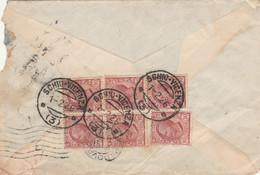 LETTERA 1926 6X10 TIMBRO AMBULANTE SCHIO VICENZA (VS277 - Marcophilia