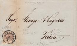 LETTERA AUSTRIA 1855 DIRETTA TRIESTE (VS304 - Covers & Documents