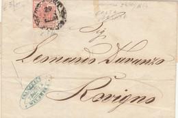 LETTERA AUSTRIA 1854 (VS307 - Covers & Documents