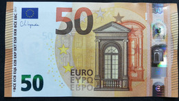 EUROPEAN CENTRAL BANK - ITALY SB S037H4 - P.new – 50 EURO 2017 UNC Signature LAGARDE - 50 Euro