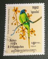 Cambodja - Mi Xxxx - 1984 - Gestempeld - Cancelled - Vogels - Psittacula Finschii - Grijskopparkiet - Cambodia