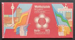 DDR 1973, Markenheftchen MH7 MNH(postfrisch) - Booklets