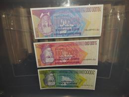 LOT 3 PCS - NICARAGUA LOT AUNC - Zambia