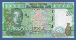 GUINEA - P.42a – 10.000 FRANCS 2007 UNC Serie AC159712 - Guinea