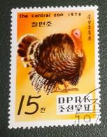 Noord Korea - Mi Xxxx - 1979 - Gestempeld - Cancelled - Vogels - Dierentuin Van Pyongyang - Central Zoo - Kalkoen - Cambodia