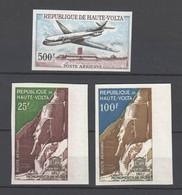 Obervolta , 3 ältere Marken , Postfrisch Geschnitten - Haute-Volta (1958-1984)