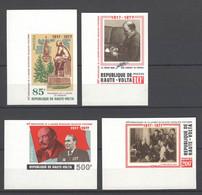 Obervolta , Nr. 696-99 , Lenin , Postfrisch Geschnitten - Haute-Volta (1958-1984)