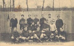 K34 - 73 - CHAMBÉRY - Savoie - Sport Athlétique - Equipe Première 1910-1911 - Chambery