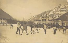 K34 - 74 - CHAMONIX - Haute-Savoie - Jeux Olympiques 1922 - Match Hockey Sur Glace Canada USA - Chamonix-Mont-Blanc