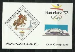 SENEGAL 1989 - JUEGOS OLIMPICOS DE BARCELONA 92 - ATLETISMO - HIPICA - Verano 1992: Barcelona