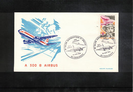 France 1972 Concorde  + Airbus Interesting Cover - Concorde