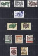 FÄRÖER Jahrgang 1981, Postfrisch **, 59-69 Komplett, Alt-Torshavn, Hist. Schriften - Färöer Inseln