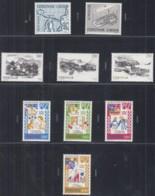 FÄRÖER Jahrgang 1982, Postfrisch **, 70-78 Komplett,  Europa: Hist. Ereignisse, Dörfer, Tanzlieder - Färöer Inseln