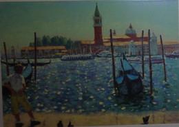 Petit Calendrier De Poche 2015 APBP Reverie à Venise  Peint Avec La Bouche - Artiste Peintre - Small : 2001-...