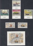 FÄRÖER Jahrgang 1992, Postfrisch **, 227-242, Komplett, Postschiffe, Europa, Seehunde, Mineralien, Gebäude - Färöer Inseln