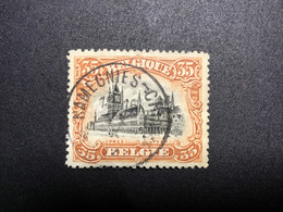 1915. STERAFSTEMPELING: RAMEGNIES-CHIN. Mooi. - Sternenstempel