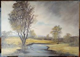 Paysage Avec Rivière/ Landscape With River - Olii