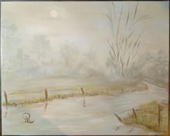 Paysage De Brouillard/ Foggy Landscape - Olii