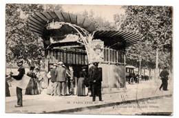 75  PARIS XVII  -  Station Du Métropolitain De Maillot - Avenue De La Grande Armée - Metropolitana, Stazioni
