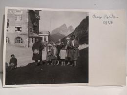 Italy Italia Postcard Foto Trentino PASSO PORDOI 1928 (Col Di Lana Posta) Persone Da Identificare - Other Cities