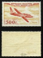 N° PA 32 500F FOUGA MAGISTER TB Neuf N** Cote 250€ Signé Calves - 1927-1959 Mint/hinged
