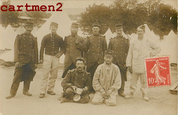 CARTE PHOTO : CHARENTE-MARITIME LE 100e REGIMENT CAMP MILITAIRE SOLDATS GUERRE 17 PANAC CORREZE - Oorlog 1914-18