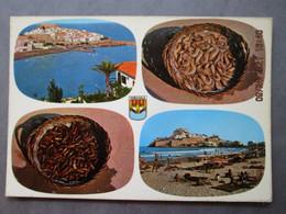 CP Espagne Costa Del Azahar   PENISCOLA  Prés Vinaroz - Multivues  Vers 1970 - Castellón