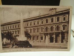 Cartolina Bari Università Benito Mussolini 1941 Fontana - Bari