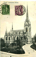 Cpa KASSEL - CASSEL - Lutherische Kirche - Kassel