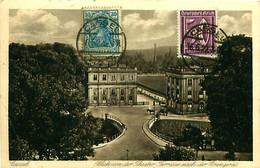 Cpa KASSEL - CASSEL - Blick Von Der Theater, Terrasse Nach Der Orangerie - Kassel