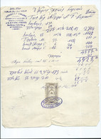 Invoices & Commercial Document - J.G.Sofiano Freres - Turkey, Constantinople,Istanbul,tax Stamp 1908 - Other