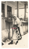 №02 From The Graet War Era 1917 / RARE AUTHENTIC ROMANIAN FOLKLORE DRESS Picture Young Romanian Woman - Ohne Zuordnung