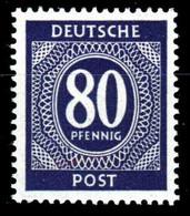 KONTROLLRAT ZIFFERN Nr 935a Postfrisch S69896E - Zona AAS