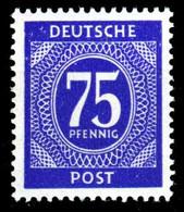 KONTROLLRAT ZIFFERN Nr 934a Postfrisch S6989A6 - Zona AAS