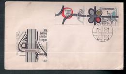 Tchécoslovaquie 1971 Congrès Sur Les Routes Et La Sécurité Routière - Accidentes Y Seguridad Vial