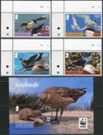 SOUTH GEORGIA AND THE SOUTH SANDWICH ISLANDS 2012 WWF Seabirds Terns Gulls Birds Animals Fauna MNH - Meeuwen