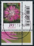 BRD BUND DS BLUMEN Nr 3470 Gestempelt ECKE-URE X30A8CA - Gebraucht