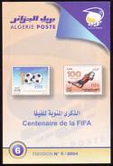 ALGERIA 2004 Notice Official Brochure Football FIFA 100 Anos - 100th Anniversary Fußball Calcio Soccer Futbol Voetbal - Autres