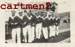 "MARINS A BORD DU SOUS-MARIN "" HENRI FOURNIER "" SUBMARIN U-BOAT 1929 MARINE MILITAIRE GUERRE - Onderzeeboten"