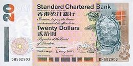 HONG KONG P. 285c 20 D 1998 UNC - Hong Kong