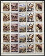 Yugoslavia 1987 Wildlife Conservation Sheet (folded) MUH - Unused Stamps