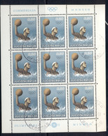 Yugoslavia 1972 Summer Olympics Munich, Waterpolo Sheetlet CTO - Used Stamps