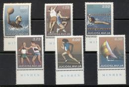 Yugoslavia 1972 Summer Olympics Munich MUH - Unused Stamps