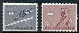 Yugoslavia 1976 Winter Olympics Innsbruck MUH - Unused Stamps