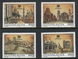 Yugoslavia 1989 Architecture & Antiquities MUH - Unused Stamps