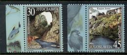 Yugoslavia 2001 Europa, Views MUH - Unused Stamps