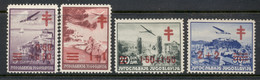 Yugoslavia 1940 Airmail, Surch. Tuberculosis MNG - Used Stamps