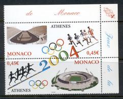 Monaco 2004 Summer Olympics Athens MUH - Unused Stamps