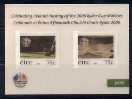 Ireland 2006 Ryder Cup Golf Tournament 3D MS MUH - Nuovi