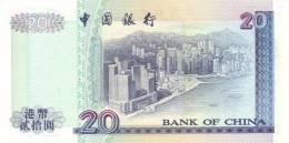 HONG KONG P. 329f 20 D 2000 UNC - Hong Kong